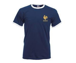 France-World-Cup-T-shirt-Nostalgic-Shirt-World-Cup-Zidane-fancy-Retro-style