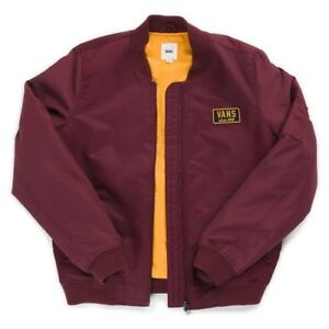 Maroon Red Jacket Small Royal Bomber Boom Port Vans Extra w4Sp77