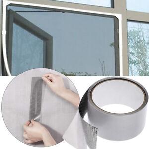 Fly-Screen-Door-Insect-Repellent-Repair-Tape-Waterproof-Mosquito-Screen-Cover-US