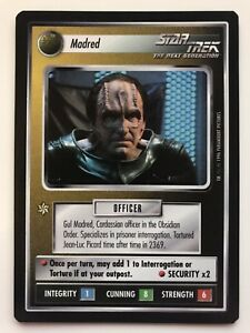 Star Trek CCG QC Q-Continuum Madred