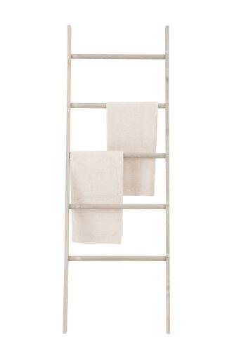 Handtuchhalter Fiz Handtuchleiter mit 5 Sprossen Wäscheleiter Handtuchtrocker