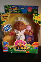2001 Playmates Totally Trolls Tiny Tina Tickle Series 1 Sealed