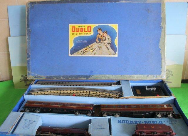 HORNBY DUBLO EDP2 DUCHESS OF ATHOLL TRAIN SET EARLIER VERSION BOXED