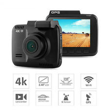 WiFi Car DVR Recorder Camera Built in GPS Auto Camcorder 4K 2880x2160P Dash Cam