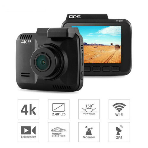 WiFi Car DVR Camera recorder Auto Camcorder 2880x2160P 4K car Dash Cam with gps