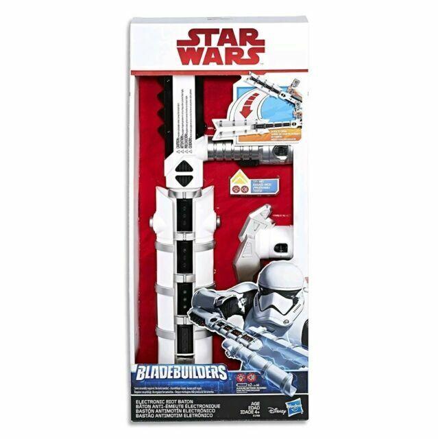 Star Wars The Last Jedi Bladebuilders Electronic Riot Baton