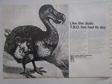2/1968 PUB ROLLS-ROYCE AERO ENGINES ADVANCED TECHNOLOGY DODO ORIGINAL AD