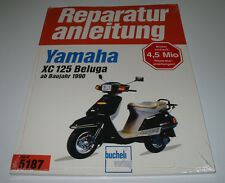 Reparaturanleitung Yamaha XC 125 Beluga ab Baujahr 1990 Motorroller NEU!