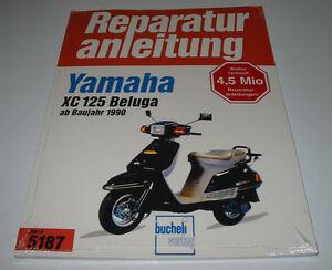Yamaha XC 125 Beluga Reparaturanleitungen ab 1990