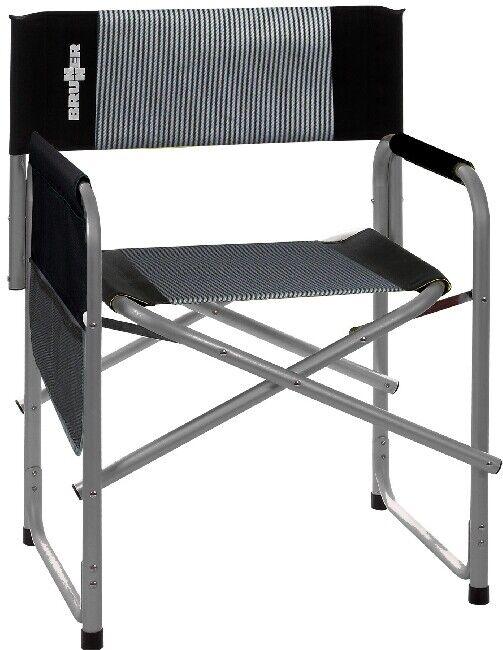 Cámping  brunner Alu silla plegable silla de Cámping tipo dirigida por bravura Dark  el mas reciente