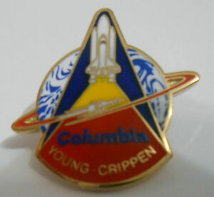 NASA-Space-Shuttle-Columbia-STS-1-Lapel-Pin-The-First-Space-Shuttle-Mission