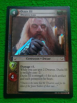 Lord Of The Rings CCG Reflections Foil Card  9R+7 Ring Of Fury