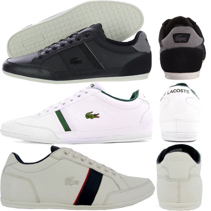 LACOSTE  Chaussures  -   hommes   BOYS CASUAL SMART TRAINERS - NEW 100% ORIGINAL