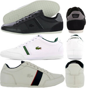 8df10bfcd76c LACOSTE SHOES - MENS BOYS CASUAL SMART TRAINERS - NEW 100% ORIGINAL ...