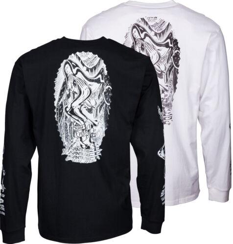 Jason Jessee Guadalupe Santa Cruz Guad /'Wave Langärmelig Skateboard T-Shirt