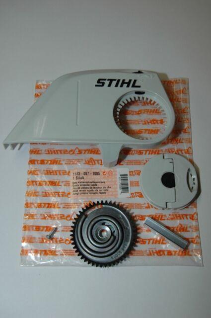 XX 1123 Stihl Kettenraddeckel Kettenschnellspannung Satz MS170 MS180 MS210 MS230