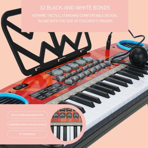 49 Keys Multifunction Electronic Piano Kids Keyboard Music With Microphone