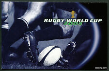 2003 Rugby World Cup Post Office Pack Australia Mint Stamps