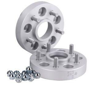Spurverbreiterung Aluminium 4 St/ück 30 mm pro Scheibe // 60 mm pro Achse T/ÜV-Teilegutachten inkl