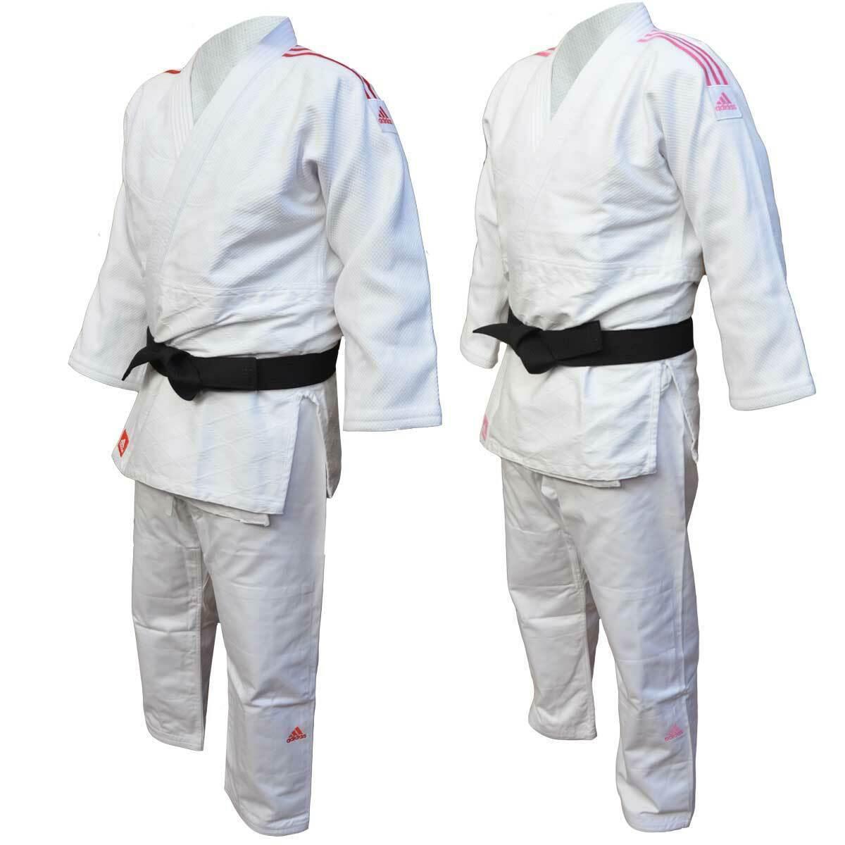 Judogi Modello Contest J650 con cintura bianca Adidas  10202028S