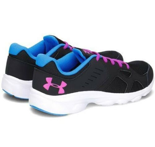 NEW Under Armour Youth Girl/'s Athletic Shoes UA GGS Pace RN 1272293-001 5.5 6 7