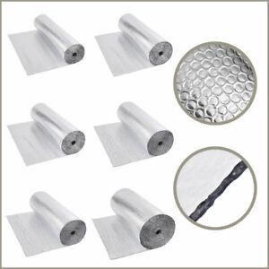 Double Aluminium Bubble Foil Insulation - Loft Caravan Shed Home - Various Sizes