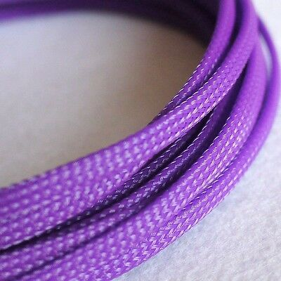4MM Pink DENSE PET Expanding Matte Braided Sleeving Cable Harness 1//3//5//10//20M