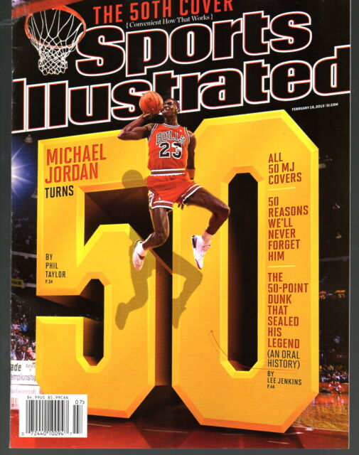 Sports Illustrated 2013 50 Years Michael Jordan Chicago Bulls Newstand Issue NRM