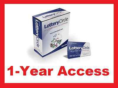 LOTTERY CIRCLE SOFTWARE WIN LOTTERY NUMBERS SYSTEM PLAY PICK 3/4/5/6 WIN  LOTTO!! | eBay