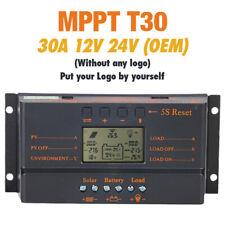 80A LCD 12V 24V Solarregler Regulator Lade Batterie-sicherer Schutzart MPPT KS