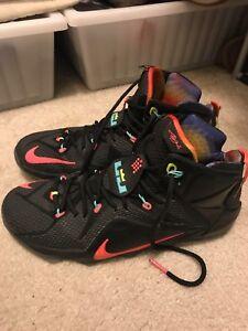 4373c0a7ebc6a Image is loading Nike-LeBron-12-XII-Data-Size-11-5