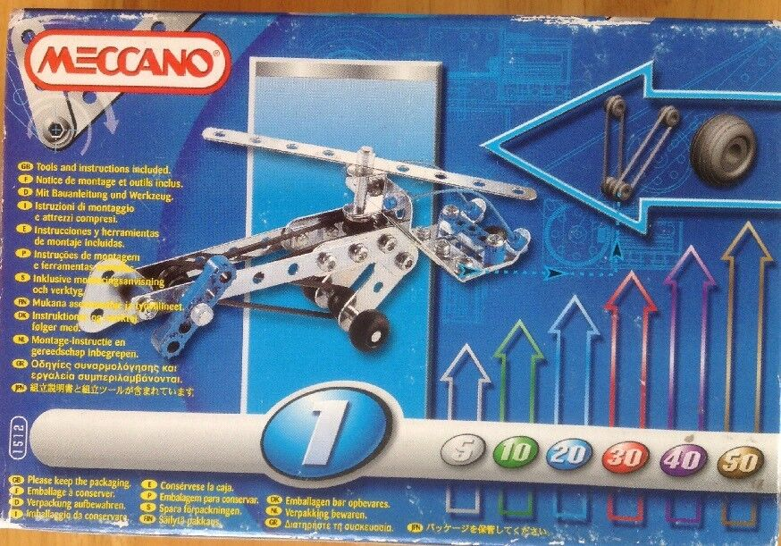 MECCANO 1512 MOTION SYSTEM NEW SEALED BOX BOX BOX 90 PARTS TOOLS & INSTRUCTIONS INCLUDED d27209