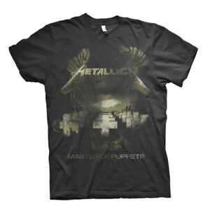 Metallica-Master-of-Puppets-Sepia-Official-Tee-T-Shirt-Mens