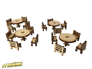 TTCombat-RPG010-Tables-and-Chairs-Set-Dungeons-Role-Playing-Dragons