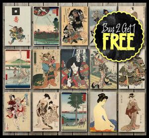 Vintage-Classic-Japan-Japanese-Fine-Art-Posters-A4-A3-A2-A1