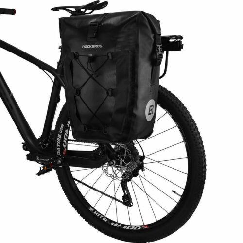 RockBros Bike Bag Combined Handlebar Bag Front Frame Bag Waterproof Pannier UK