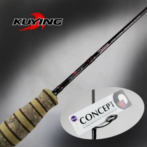KUYING Fishing Rods Trout Rods Ultra Light UL Spinning Casting Rods FUJI Lures