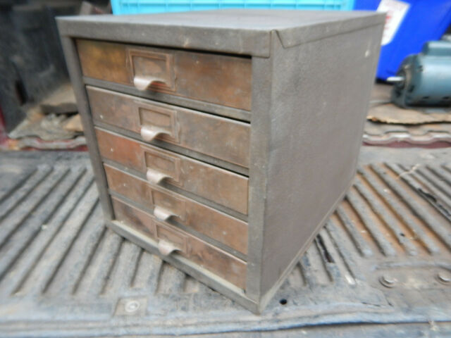 VINTAGE KENNEDY PARTS CABINET FROM A MACHINE SHOP   eBay