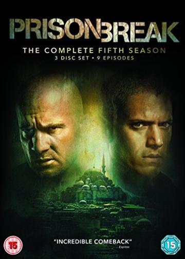 Prison Break Season 5 (UK IMPORT) DVD NEW