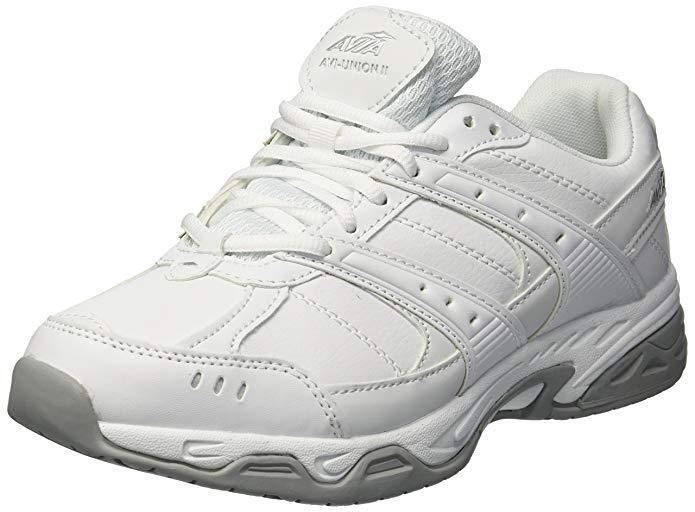 AVIA Avi-Union ll Sneaker Men's White shoes Leather Work shoes Slip Resistant