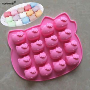 Hello-Kitty-16-Grid-Silicone-Soap-Mould-DIY-Cake-Chocolate-Tray-Baking-Mold