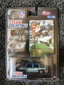 NFL Trading Card and Car Vintage Jacksonville Jaguars Rare Excellent Condition
