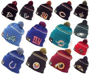 c90b686367be New Era NFL Logo Crisp Skully Winter Beanie Cuff Knit Authentic ...