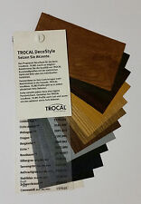 Farbfächer, Trocal DecoStyle, Renolit, Folie, Fenster, groß