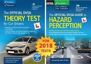 2018 DVSA Driving Car Theory Test Book - and 2018 Hazard Perception DVD-ROM1