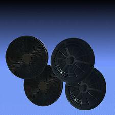 4 Aktivkohlefilter für Dunstabzugshaube Respekta CH 22077 IX , CH 22081 IX