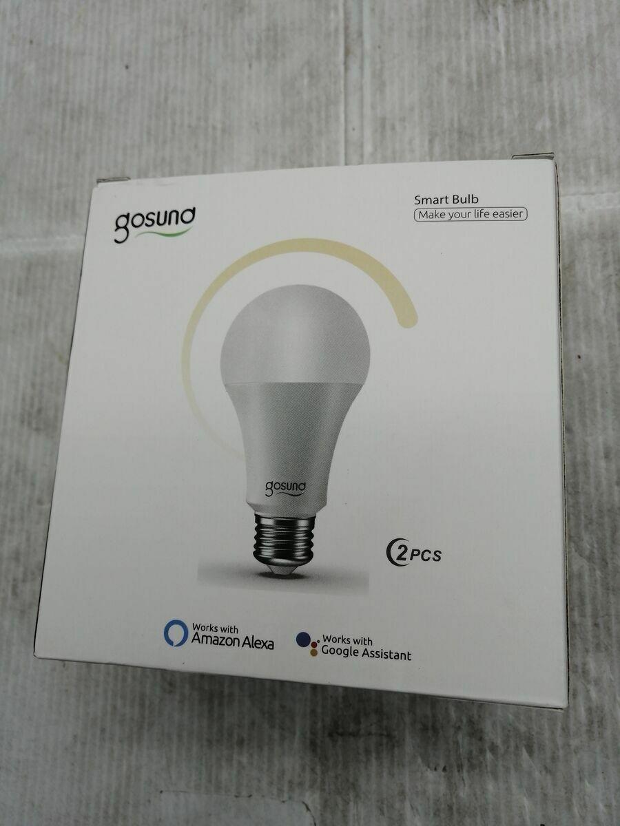 2 Smart LED-Leuchtmittel, E27, Smart Bulb, WLAN, 2,4 GHz Energiesparlampe EEK A+
