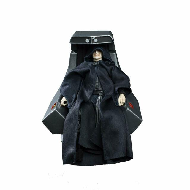 NEW Star Wars The Black Series Emperor Palpatine Action Figure with Throne