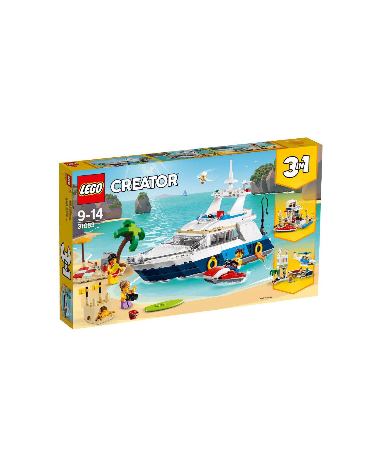 LEGO CREATOR 3 IN 1 YACHT  AVVENTURE IN MARE   9-14 ANNI    ART  31083