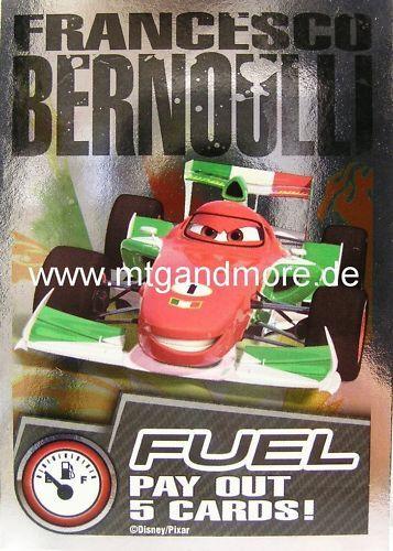 Cars 2 TCG Foil Francesco Bernoulli